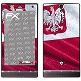 """atFoliX Film décoratif """"Pologne"""" Pour Sony Xperia S (Import Allemagne)"""