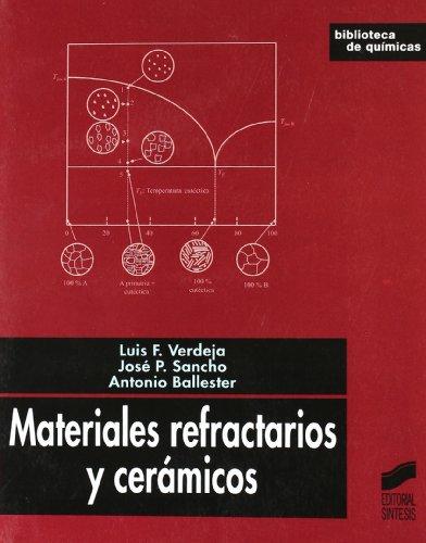 Materiales refractarios y cerámicos (Biblioteca de químicas) por Luis Felipe Verdeja González