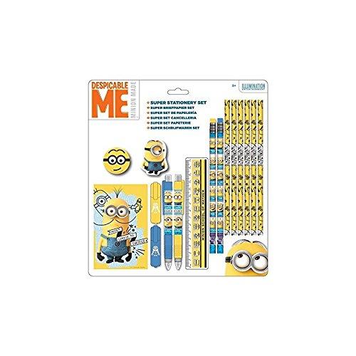 Sambro MIN-691 Minions - Schreibset, 16-teilig