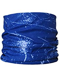 Multifunctional Headwear Blue Splatter