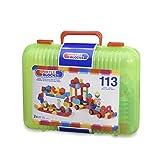 B. Toys 44265 - Bristle Blocks, 113 Teile im Koffer