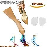 pedimendtm Ball von Fuß Kissen (3pairs) | Metatarsal Einlagen | Mittelfuß Schmerzlinderung | Morton-Neuralgie Pads | verhindern Fuß Burning | Unisex | Foot Care