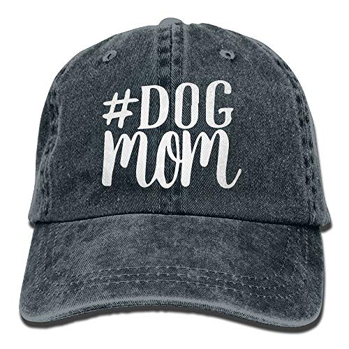 KKAIYA Men and Women Dog Mom 1 Vintage Jeans Baseball Cap (Dog Cap Ear)