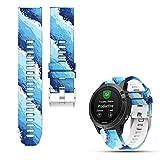 Garmin Fenix 5 Multisport GPS Uhr Ersatzband, iFeeker weiches Silikon Schnellinstallation Armbanduhr...