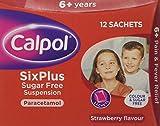 Calpol Six Plus Sugar Free Sachet, 5 ml, 12-Count