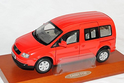 Preisvergleich Produktbild VW Volkswagen Caddy Van Rot 2003-2010 1/24 PAudi Modell Auto