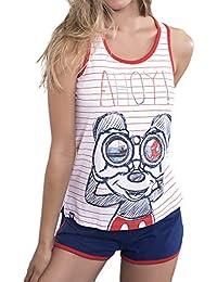 Disney Pijama Tirantes Mujer Mickey