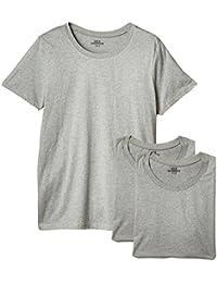 Mick Morrison Camiseta con Cuello Redondo Hombre, Pack de 3