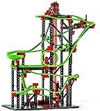 fischertechnik Kugelbahn Dynamic L² mit 4,5m Streckenlänge - Komplettset inklusive Motor - für Kinder ab 9 Jahren - 3 Actionparcours-Modelle und 4 Versuchsmodelle