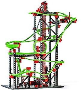 Fischertechnik Dynamic L2 - Juego Educativo y Divertido de Construcción de Circuitos de Canicas, 780 Piezas.