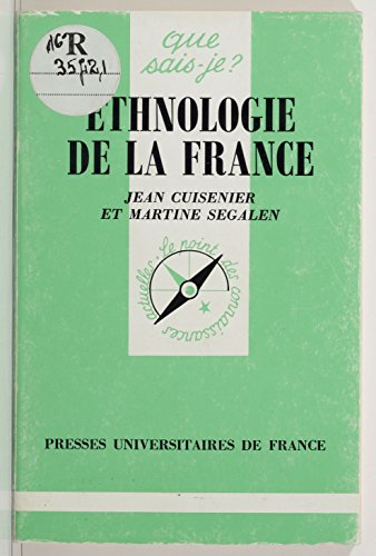 Livre Ethnologie de la France pdf, epub ebook