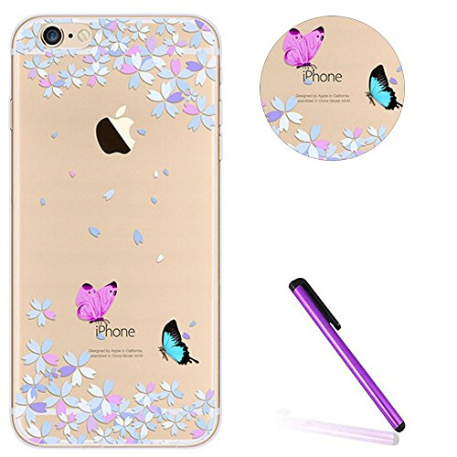 Bling Bling Coque pour iPhone 7 Plus,Silicone Coque pour iPhone 7 Plus,Transparente Coque pour iPhone 7 Plus,iPhone 7 Plus Coque Bling Diamant Cœur Etui Housse,EMAXELERS iPhone 7 Plus 5.5 Pouce Crista TPU 92