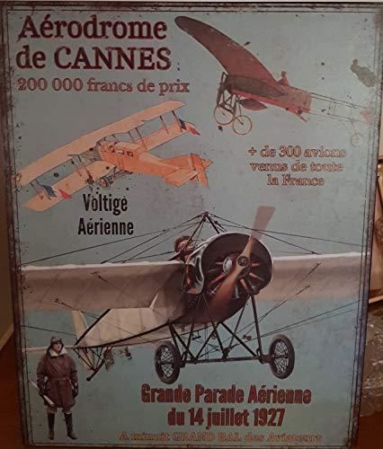 plaque «grande parade aerienne » 28*36 cm