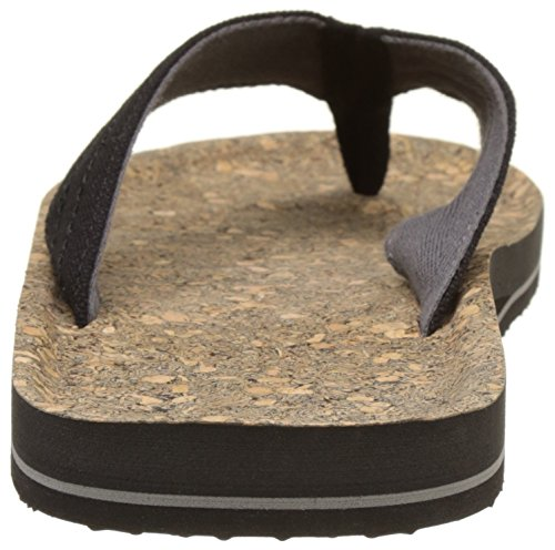 O'Neill - Fm Chad Structure Flip Flops, Scarpe da Spiaggia e Piscina Uomo Nero (Black Aop)