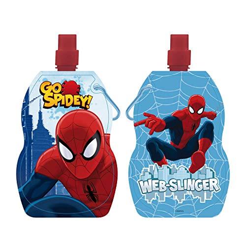 ARDITEX SM8560 Botella Plegable y Reutilizable de Marvel-Spiderman