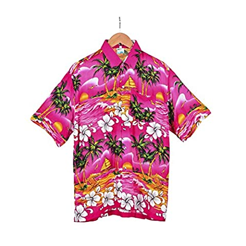 BFD One mens Hawaiian shirt aloha beach party size S