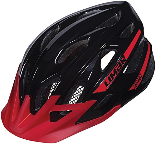 Casco Limar 545 MTB negro rojo T. L 57-62cm