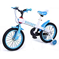 Bicicleta Infantil Modelo Rocket con Ruedas de 12'' Color Azul