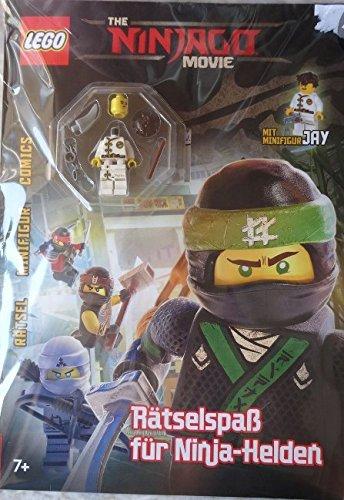 LEGO NINJAGO MOVIE Rätselspaß für Ninja-Helden