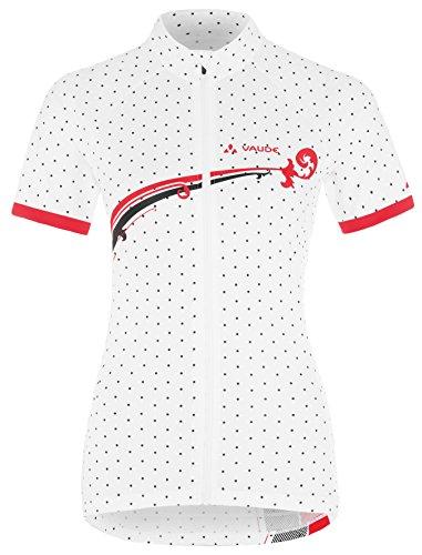 VAUDE 03881 maillot pour femme women's dotchic tricot Blanc - Blanc
