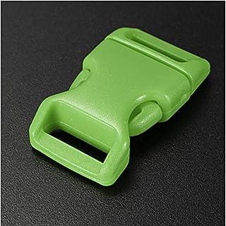 JenNiFer 15Mm Plastik-Seitliche Entriegelung Schnallt Taschengürtelverschluß - Grün