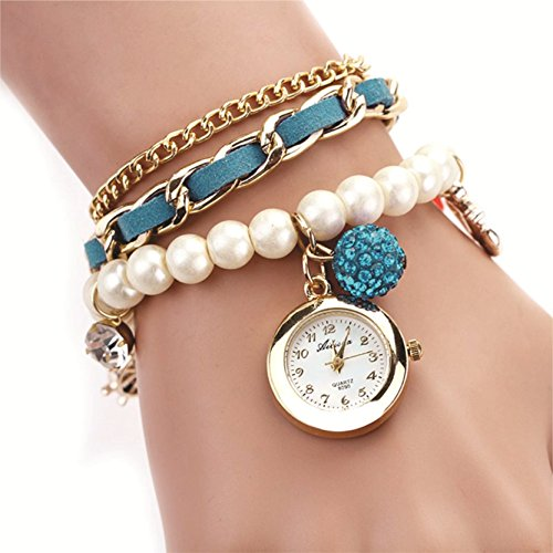 Skylofts-Analogue-Blue-Dial-GirlS-And-WomenS-Hang-Bracelet-Watch