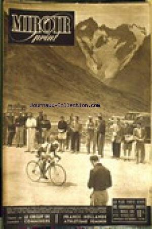 MIROIR SPRINT [No 64] du 12/08/1947 - LE CIRCUIT DE COMMINGES. FRANCE - HOLLANDE ATHLETISME FEMININ. par COLLECTIF