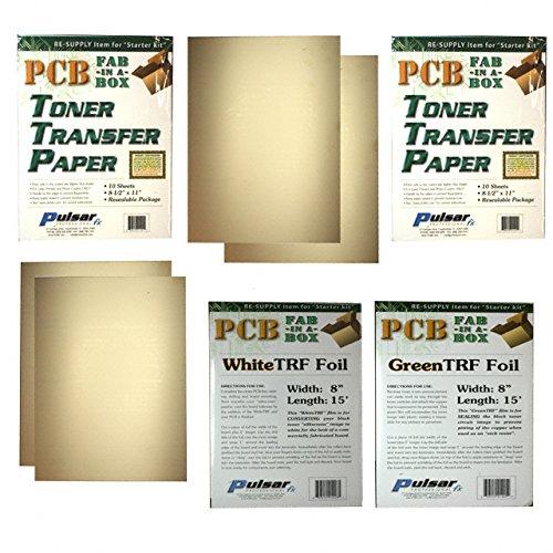 Preisvergleich Produktbild Pulsar Pro FX Fab-In-A-Box Leiterplatten-Kit