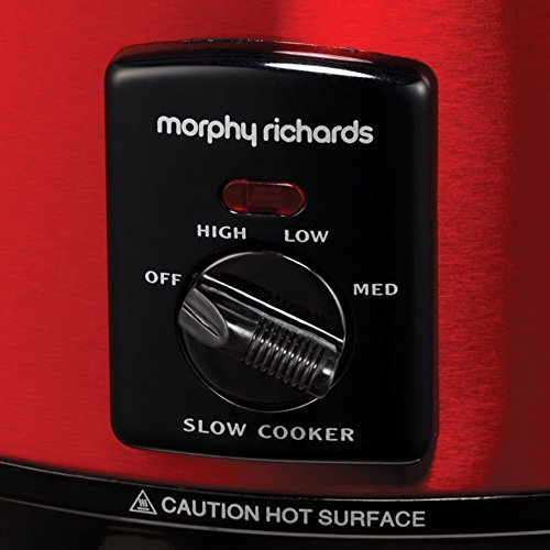 51H3kooBw5L. SS500  - Morphy Richards Accents 461000 6.5 Litres Slow Cooker - Red