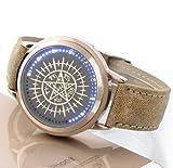 NEW Black Butler LED Touchscreen elettronico orologio impermeabile