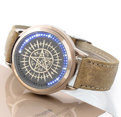 Preisvergleich Produktbild NEW Black Butler LED-Touchscreen Elektronische Uhr Wasserdicht cosplay