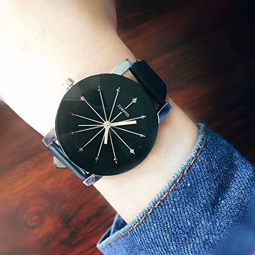 Relojes Mujer, Relojes pulsera mujer banda cuero relojes