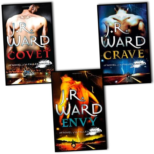 J. R. Ward Fallen Angels Series 3 Books Collection Pack Set RRP: £22.97 (Covet, Envy , Crave)