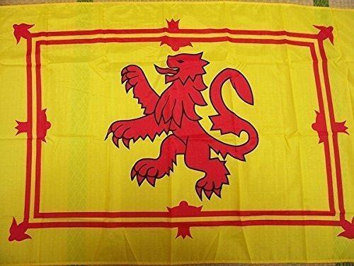 Scottish Flag (Shop of Accessories®–Lion Rampant Scotland Flagge–90cm x 150cm)