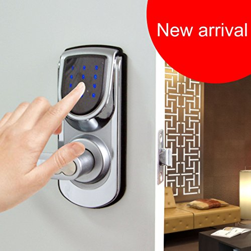 Keyless Smart Security Electronic Touch screen Keypad Door ...