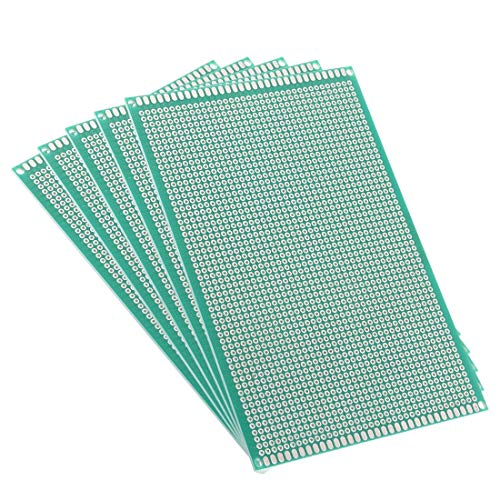 Single-circuit (ZCHXD 10x15cm Single Sided Universal Printed Circuit Board for DIY Soldering 5pcs)