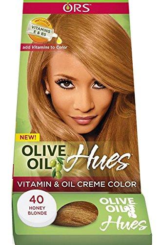 Rup Olio d' oliva Vitamina E e olio crema permanente per capelli a lunga durata colori non: 40Biondo Miele
