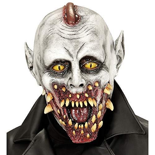 Widmann 00467 Übergroße Maske Vampirzombie, Mehrfarbig, ONE Size
