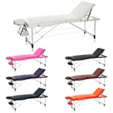 Best Portable Massage Tables - H-ROOT 3 Section Ultralight Aluminium Portable Massage Table Review