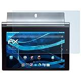 atFolix Displayschutzfolie für Lenovo Yoga Tablet 2-8 Schutzfolie - 2 x FX-Clear kristallklare Folie