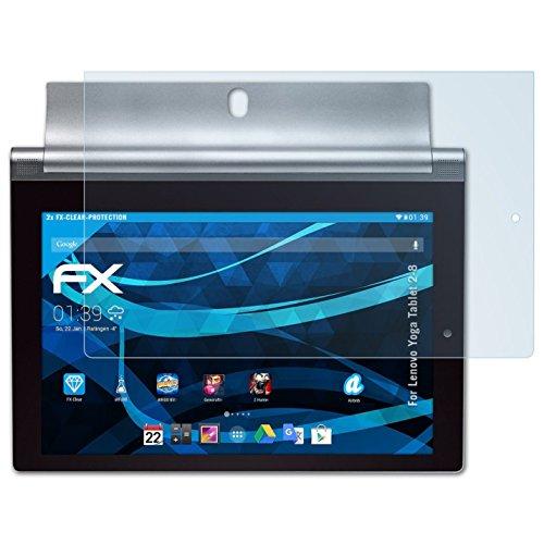 atFolix Schutzfolie kompatibel mit Lenovo Yoga Tablet 2-8 Folie, ultraklare FX Displayschutzfolie (2X)