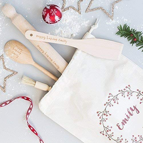 Baking Set - Personalised Baking Gift - Personalised Baking Set - Cotton Bag - Cooking Utensils - Personalized Kitchen - Personalised Bag