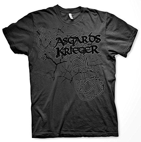 Asgards Krieger 2 - Tshirt Grau