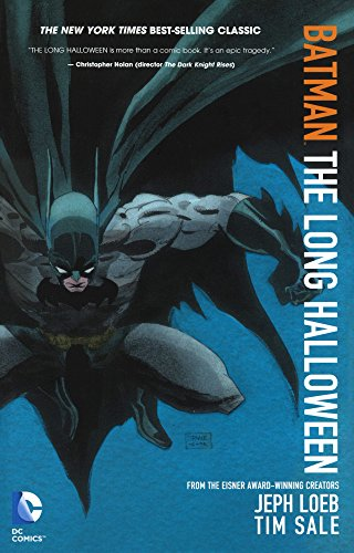 Batman: The Long Halloween Cover Image