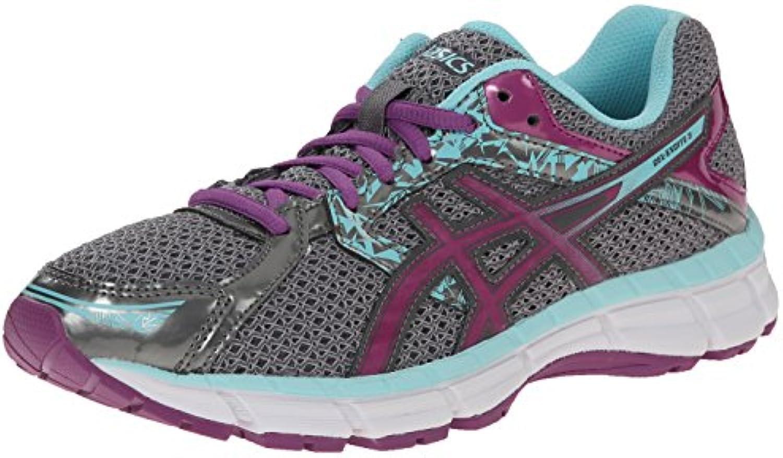 Zapatillas de running Gel-excite 3 para mujer, Charcoal / Grape / Aqua Splash, 8 M US