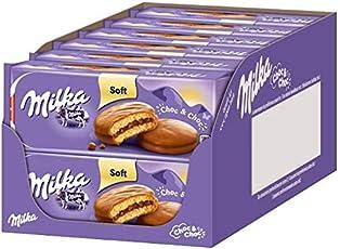 Milka Choc & Choc Mini-Kuchen - Küchlein gefüllt und überzogen mit zarter Milka Alpenmilch Schokolade - 12 x 175 g