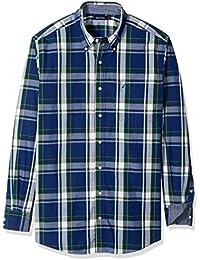 Nautica Camisa Casual Para Hombre