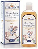 Linea Bimbi Organic 2 in 1 Baby Shampoo Body Wash for Sensitive Skin No Tears Vegan Friendly Dermatology Tested, Certified Organic 250ml