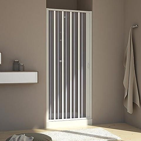 Receveur Douche 80 X 60 - Forte BR120001Cabine de douche avec porte escamotable,