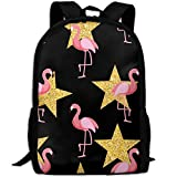best& Stylish Flamingo Stars Laptop Backpack School Backpack Bookbags College Bags Daypack